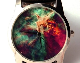 ON SALE 25% OFF Watch  wrist watch Nebula Hubble space photo, unisex watch, women watch, men wrist watch