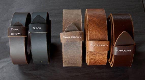 """Kids Belts Leather Belt for Suits Leather Snap Belt for Jeans Wedding Belt Custom Cut Leather Belts 1.5"""" or 1.25"""" Belts for Men Ladies Belt"""