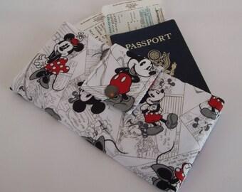 Dolllbirdies Original Boarding Pass Passport Wallet