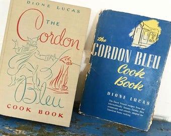 Vintage Cookbook Cook Book Cordon Bleu Cook Book 1950s Cookbook