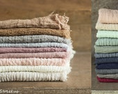 Gauze Wraps, Layering, Baby Wrap, Newborn Wrap, Blush, Many Colors, Gauze, Cheesecloth, newborn Props, RTS, Neutrals, Vintage, Cheese Cloth