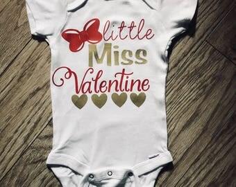 Girls valentines day onesie/shirts