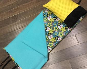 Kindermat Napmat Cover - Sunshine Modern Flower