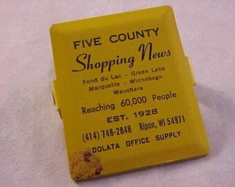 Vintage Advertising Clip Ripon Wisconsin