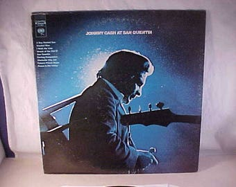Johnny Cash - 33 LP - At San Quentin