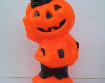 Vintage Jack O Lantern Blow Mold. Empire, 1969