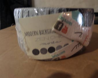 Modern Backgrounds Ink Jelly Roll by Moda Fabrics