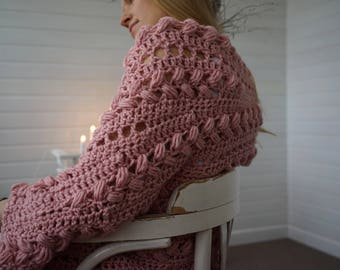 Inmost Cardigan - cabled cocoon jacket cardigan