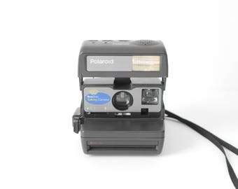 POLAROID camera very RARE vintage polaroid 90's camera that TALKS