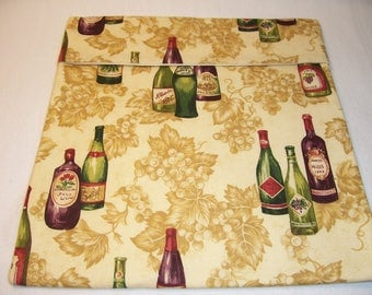 Handmade Microwave Potato Bag,Wine Bottles,Potato Pouch,Home and Living,Serving,Kitchen and Dining,Gifts,Bake Potato Bag