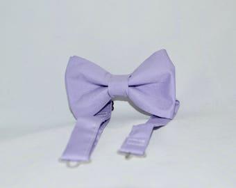 Purple Lilac Bow Tie Boys Mens