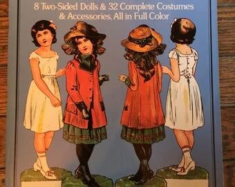 Vintage Dover Paper Dolls The Edwardian Era 1975