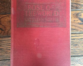 Vintage 1924 Rose of the World Book Kathleen Norris