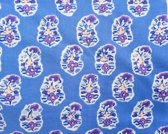 Kaffe Fassett Asha blue GP 75 Rowan Fabrics FQ or more