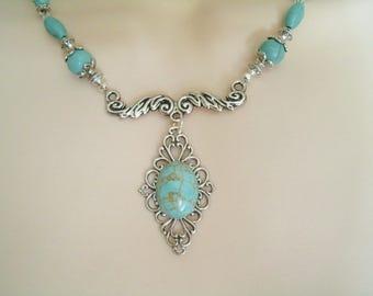 Turquoise Necklace, southwestern jewelry southwest jewelry turquoise jewelry native american jewelry style western jewelry boho bohemian