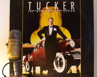 "ON SALE Francis Ford Coppola/Jeff Bridges film, Joe Jackson music Vinyl Record LP 1980s Cool Jazz Blues Pop  ""Tucker: The Man And His Dream"""
