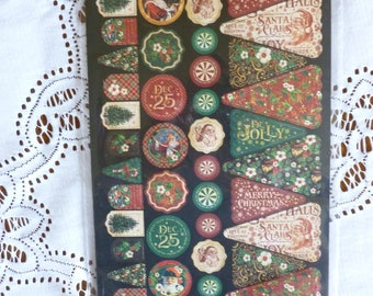 Graphic 45 St. Nicholas Cardstock Banners