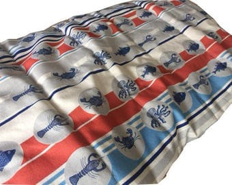 "Handmade Limited Edition ""Nautical Luxury Lap Comforter / Quilt"""