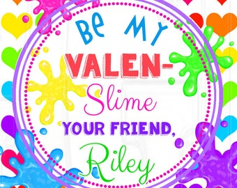 Slime Valentine's Card-Digital File