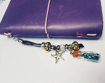 Starfish, planner accessories, travelers notebook accessories, charms, planner charms, planner accessories, silver planner charm, cute charm