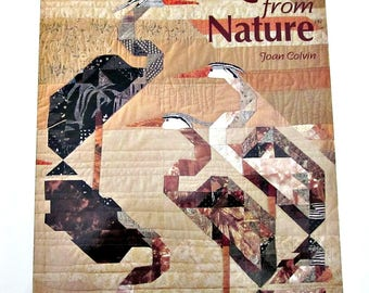 Quilts From Nature by Joan Calvin - Patterns, Instructions and More for Art Quilts by Noted Quilt Artist - Quilting How To Book - Bobann23