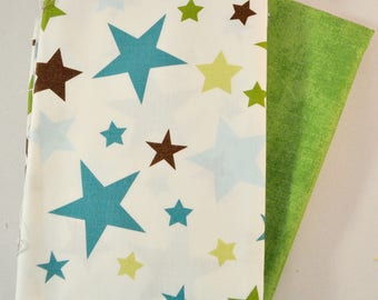 All Star 2 Two Fabric Half Yards Bundle for Riley Blake, 1 yard total