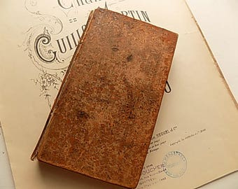 Antique Book -Leather Book - The Spectator Vol 8 - Book Lovers