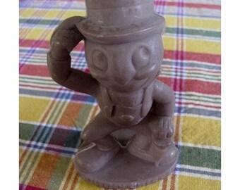 Christmas In July SALE Vintage Jiminy Crickett Disney 5 1/2 Figure Walt Disney Productions WDP Copyright