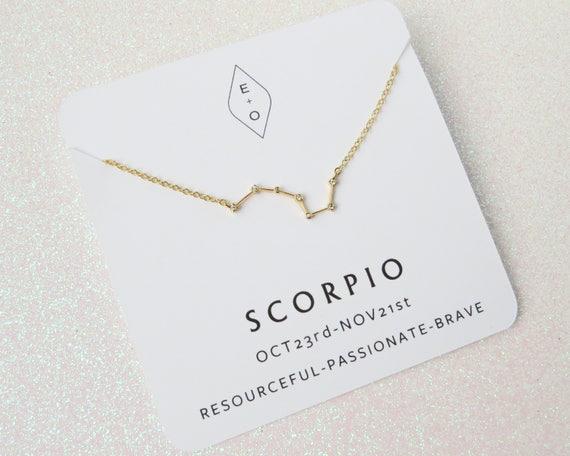Zodiac Sign Necklace | Horoscope Necklace | Zodiac Necklace | Zodiac Gift | Birthday Gift | Astrology Jewelry | Minimalist Necklace