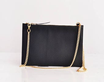 Vegan crossbody bag black crossbody black purse small crossbody bags for women, vegan bag black, crossbody wallet, womens christmas gifts
