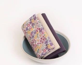 Fat Quarters Floral Cotton & Linen Bundle (3 Pieces) 87957