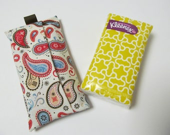 Tissue Case/Paisley