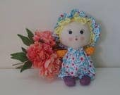 For Dee  Baby rag doll, Premade baby doll, cloth doll, unfinished baby doll