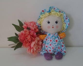 Baby Choo, rag doll,  baby doll, cloth doll, soft doll, fabric doll