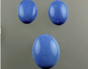 Ceruleite Cabochon Set, Blue Ceruleite Cabs, Ceruleite Chile, Rare Ceruleite Cabs, Pendant and Earring Cabs, Gift Cabs, C2043, 49erMinerals