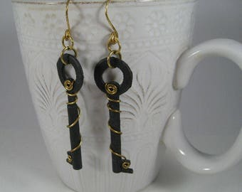 La Forge Iron Earrings