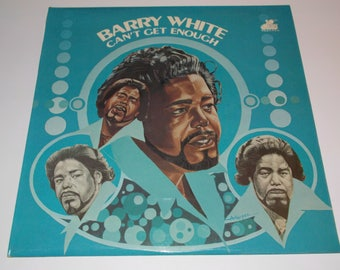 1973 - Barry White - Can't Get Enough - A1/B1 1st Pressing! LP Vinyl Record Album - 70's / R&B / Soul / Funk / Pop