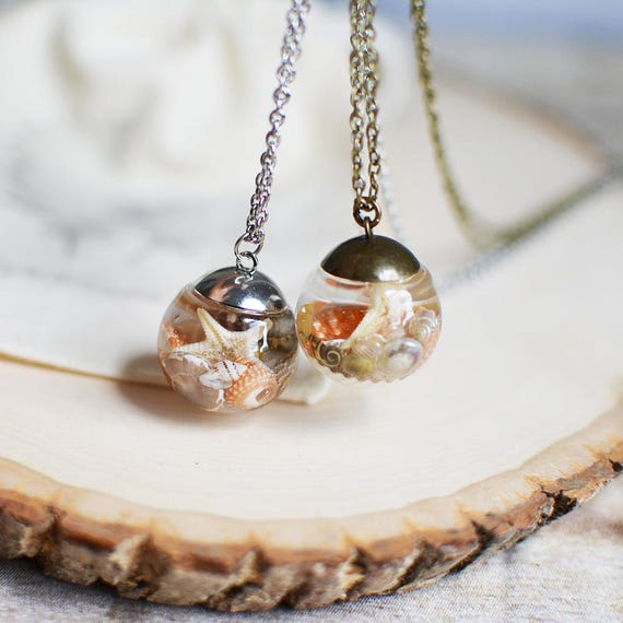 Make Your Own Seashell Jewelry: Seashell Necklace Seashell Jewelry Beach Wedding Gift For