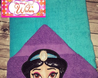 Arabian Princess Hooded Towel