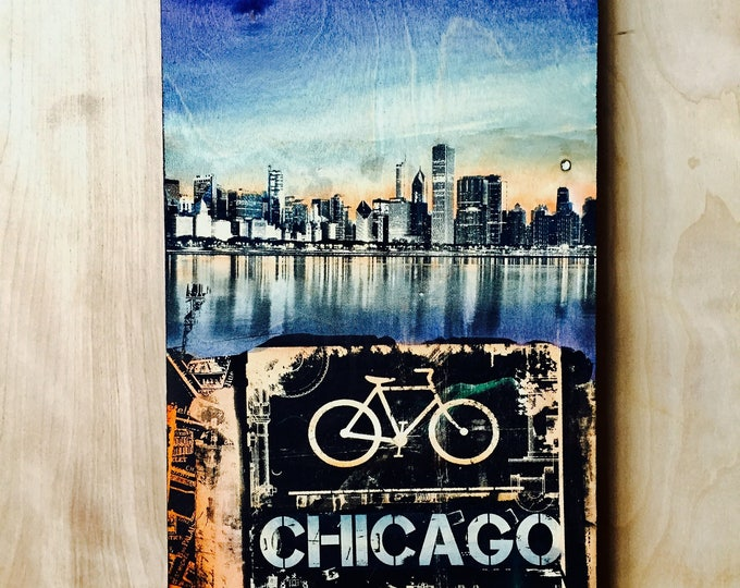 Chicago Bikers Collage