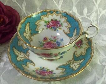Grafton Bone China Teacup & Saucer
