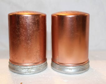20% OFF EASTERSALE Vintage Copper Salt And Pepper Shakers