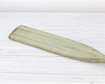 Vintage Oar Boat Oar Rowing Oar Vintage Wooden Paddle Wood Oar Nautical Wall Decor Beach Decor Lake Decor Old Boat Oar Paddle