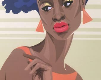 "Print (5x7"") Tangerine"