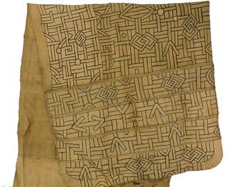 Kuba Raffia Textile Congo African Art 20 Feet 90193
