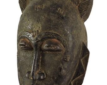 Baule Portrait Mask Kpan Mblo Ivory Coast African Art 109022
