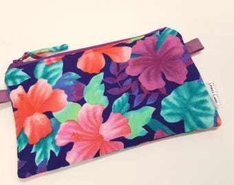 Pen Zip Pouch in Assorted floral