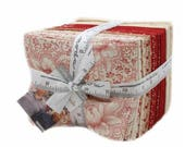 Farmhouse Reds Fat Quarter Bundle AB 35 skus 14850AB by Minick & Simpson for Moda