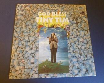 God Bless Tiny Tim Vinyl Record LP 6292 Reprise Records 1968