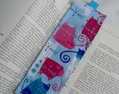 Cats Bookmark / Fabric Bookmark / Cats / Bookmark